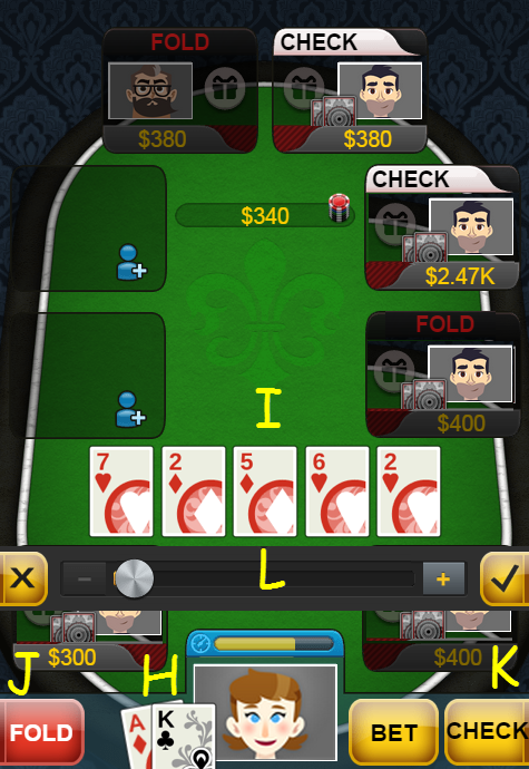 how to play texas holdem online