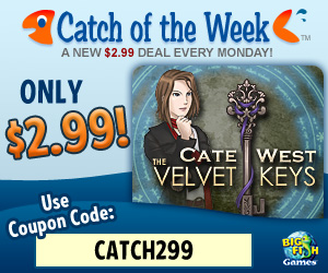 Cate West: The Velvet Keys (BFG Catch of the Week)