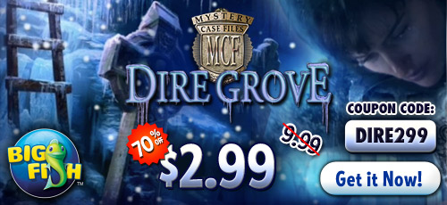 Mystery case files dire grove for for Big fish games coupon