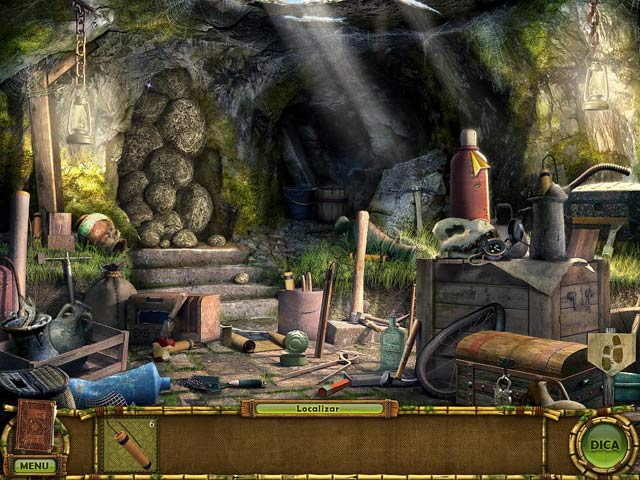 The Treasures of Mystery Island 2: The Gates of Fate Em Português