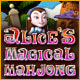 Neue Computerspiele Alice's Magical Mahjong