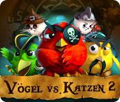 Computerspiele herunterladen : Vögel vs. Katzen 2