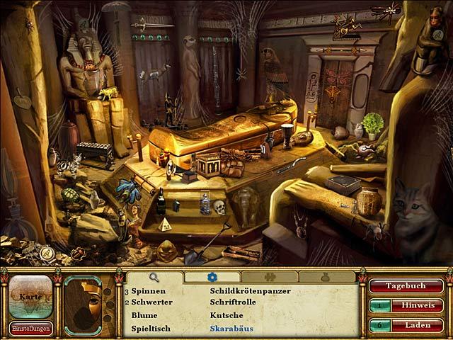 Curse of the Pharaoh: Die Tränen der Sachmet Screenshots