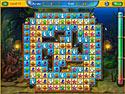 in-game screenshot : Fishdom - Spooky Splash (pc) - Entwirf Dein eigenes, gruseliges Aquarium!