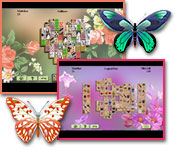 Computerspiele - Flowers Mahjong