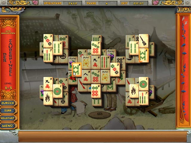 Screenshot für Mahjong Tales: Ancient Wisdom