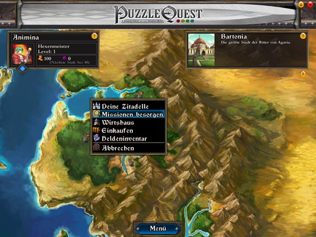 Screenshot für Puzzle Quest