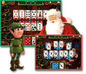 Computerspiele - Santa's Christmas Solitaire