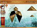 in-game screenshot : Temple of Tangram (pc) - Ein tolles Puzzle-Inlay Spiel