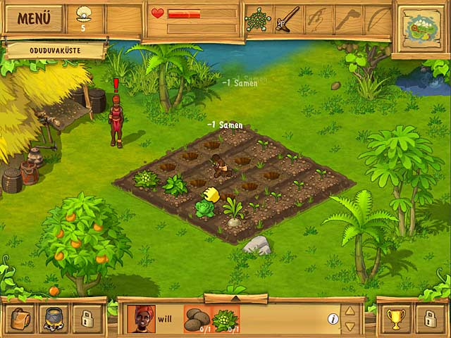 The Island Castaway - Online