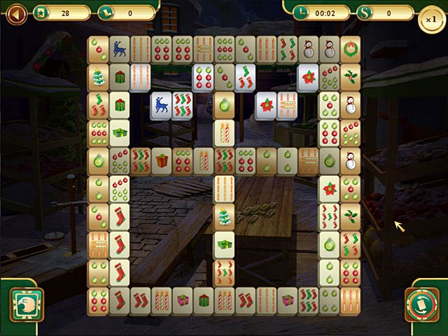 Weihnachts Mahjong