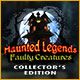 Køb Billige PC Spil Online : Haunted Legends: Faulty Creatures Collector's Edition