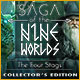 Køb Billige PC Spil Online : Saga of the Nine Worlds: The Four Stags Collector's Edition