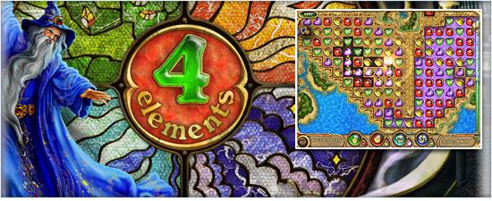 4 Elements v1.0 Yeni puzzle Oyunu