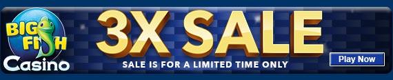 Casino 3x Sale!