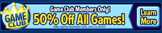 Game Club Exclusive – 50% Off!