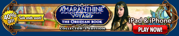 Amaranthine Voyage: The Obsidian Book  (iPad®)