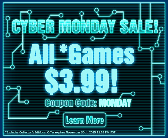 ALL games are $3.99!