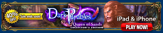iOS Dark Parables: Queen of Sands
