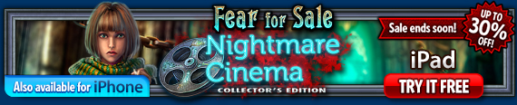 Fear For Sale: Nightmare Cinema Collector's Edition (iPad®)