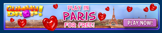 Gummy Drop! Play in Paris FREE!