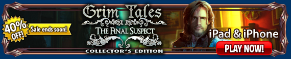Grim Tales: The Final Suspect (iPad®)