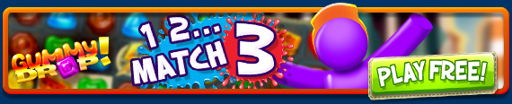 Try the hit game FREE - Gummy Drop!