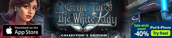 iOS Grim Tales: The White Lady Collector's Edition