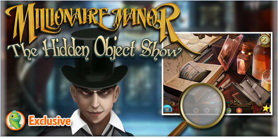 Download Millionaire Manor The Hidden Object Show