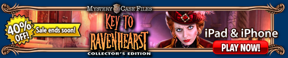 Mystery Case Files: Key to Ravenhearst CE (iPhone/iPad)