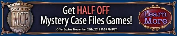 Mystery Case Files Bundle Sale!