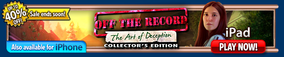 Try - Off the Record: The Art of Deception (iPad)