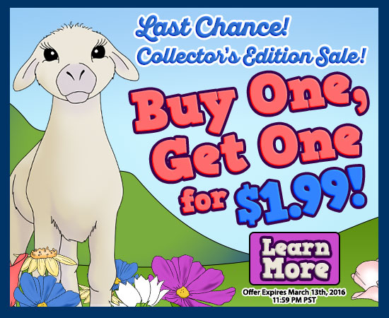 Collector's Edition Sale