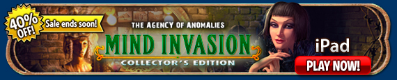The Agency of Anomalies: Mind Invasion  (iPad®)