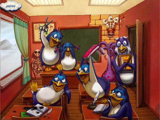 1 Penguin 100 Cases Screenshot http://games.bigfishgames.com/en_1-penguin-100-cases/screen1.jpg