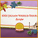 1001 Jigsaw World Tour: Europe Game