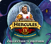 Buy PC games online, download : 12 Labours of Hercules IX: A Hero's Moonwalk Collector's Edition