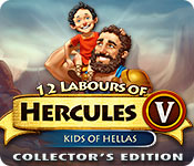 12 Labours of Hercules V: Kids of Hellas Collector's Edition Game Featured Image