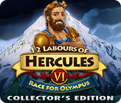12 Labours of Hercules VI: Race for Olympus Collector's Edition for Mac Game