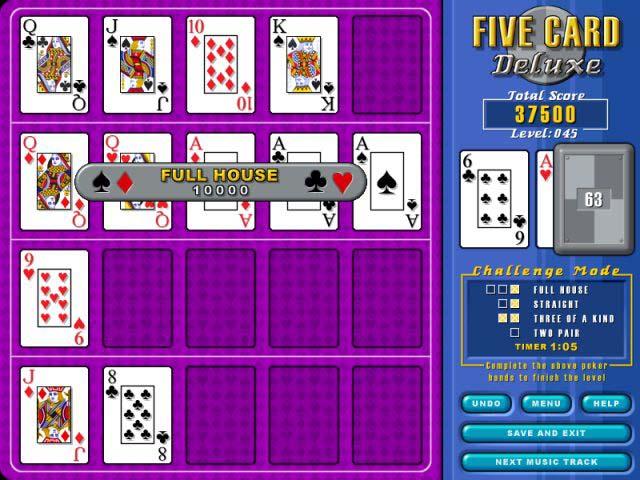 Bezpłatne pobieranie Five Card Deluxe
