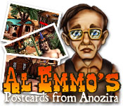 Al Emmo's Postcards from Anozira feature