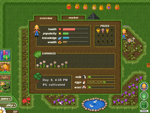 Alice Greenfingers | Games