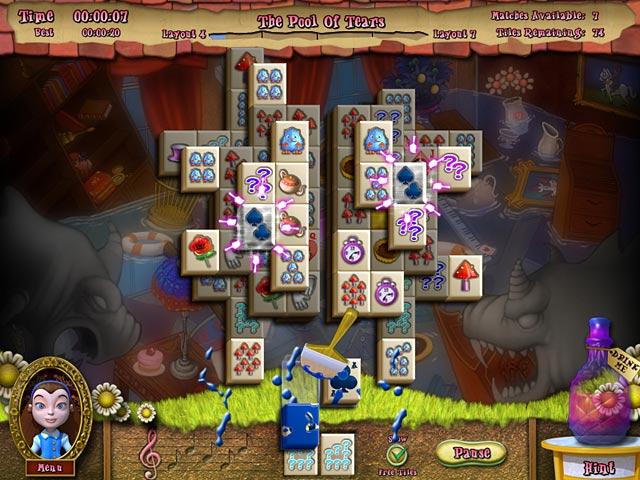 تحميل لعبة Alice's Magical Mahjong