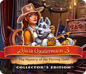 Alicia Quatermain 3: The Mystery of the Flaming Gold Collector's Edition Game Featured Image