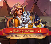 Alicia Quatermain 3: The Mystery of the Flaming Gold Game Featured Image