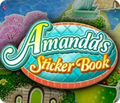 Amanda's Sticker Book Game Featured Image