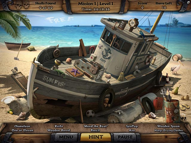 Gra Amazing Adventures: The Caribbean Secret Gra Bezpłatne