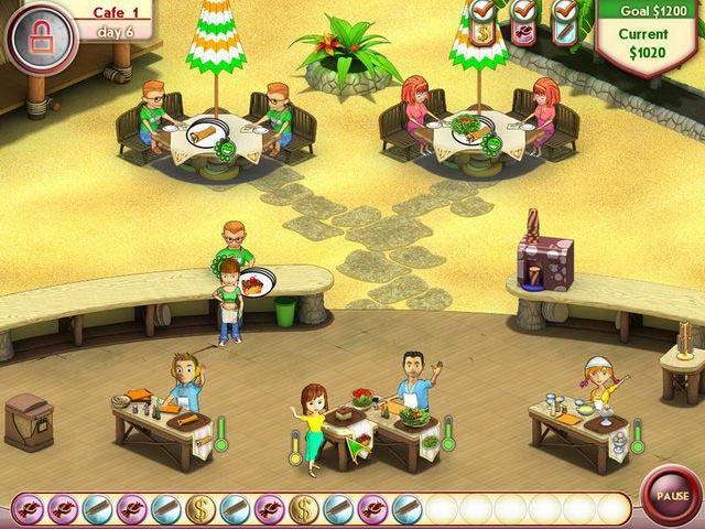 Gra Amelie's Cafe: Summer Time Gra Bezpłatne