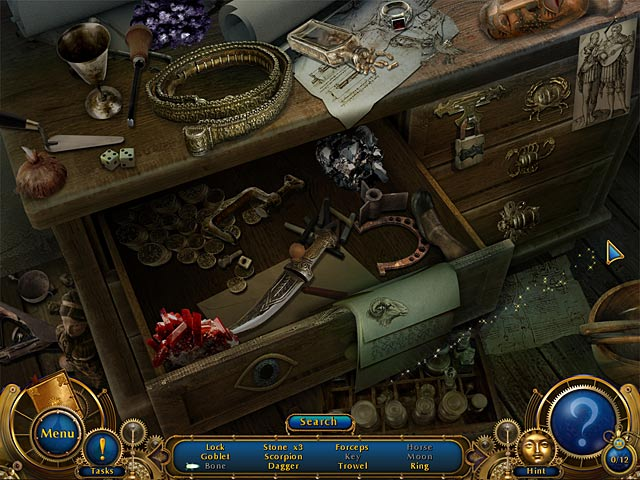 Amulet of Time: Shadow of la Rochelle - Screenshot