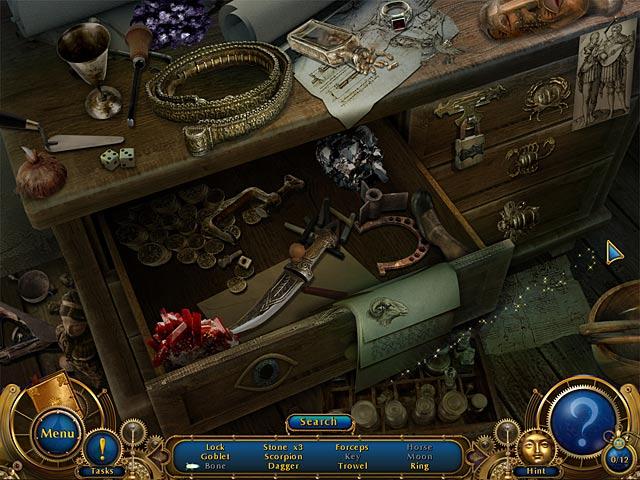 Gra Amulet of Time: Shadow of la Rochelle Gra Bezpłatne